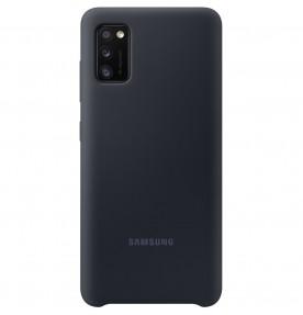 Husa Silicone Cover pentru Samsung Galaxy A41 (2020), Black