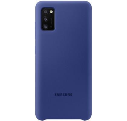 Husa Silicone Cover pentru Samsung Galaxy A41 (2020), Blue