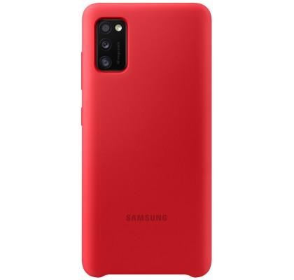 Husa Silicone Cover pentru Samsung Galaxy A41 (2020), Red