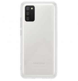 Husa Soft Clear Cover Samsung Galaxy A02s, Transparent
