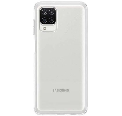 Husa Soft Clear Cover Samsung Galaxy A12, Transparent