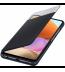 Husa S-View Wallet pentru Samsung Galaxy A32 LTE, Black