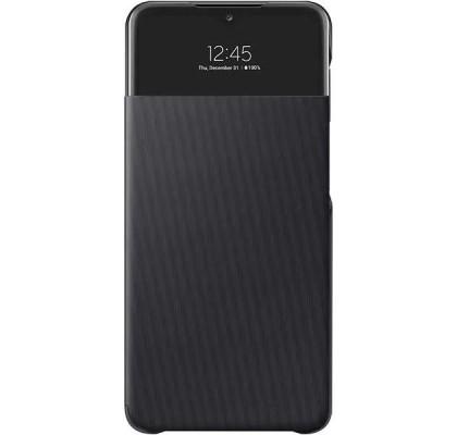 Husa S-View Wallet pentru Samsung Galaxy A32, Black