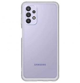 Husa Soft Clear Cover Samsung Galaxy A32, Transparent