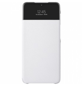 Husa S-View Wallet pentru Samsung Galaxy A32 5G, White