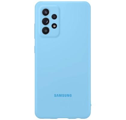 Husa Silicone Cover pentru Samsung Galaxy A72, Blue