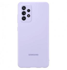 Husa Silicone Cover pentru Samsung Galaxy A72, Violet
