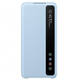Husa Clear View Cover Samsung Galaxy S20, Blue