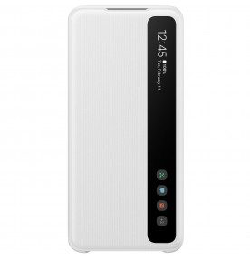 Husa Clear View Cover Samsung Galaxy S20, White