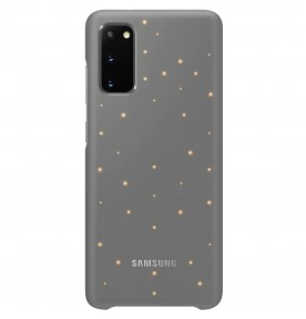 Husa LED Cover pentru Samsung Galaxy S20, Grey