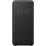 Husa LED View Cover pentru Samsung Galaxy S20, Black