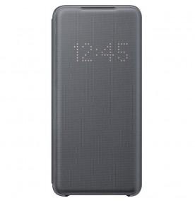 Husa LED View Cover pentru Samsung Galaxy S20, Gray
