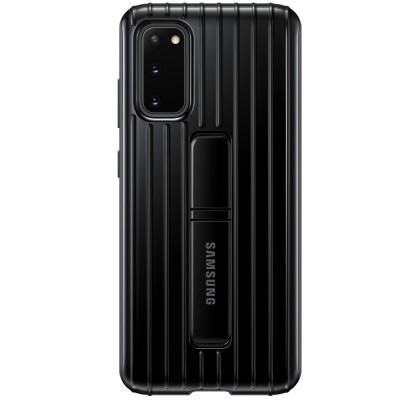 Husa Protective Standing Cover Samsung Galaxy S20, Black