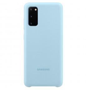 Husa Silicone Cover pentru Samsung Galaxy S20, Blue
