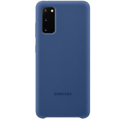 Husa Silicone Cover pentru Samsung Galaxy S20, Navy