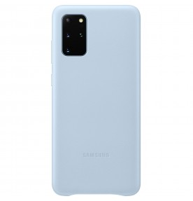 Husa Leather Cover pentru Samsung Galaxy S20+, Blue