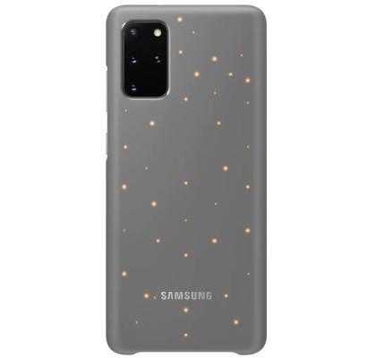 Husa LED Cover pentru Samsung Galaxy S20+, Grey