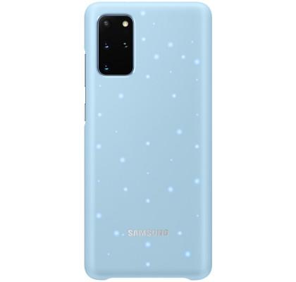 Husa LED Cover pentru Samsung Galaxy S20+, Blue