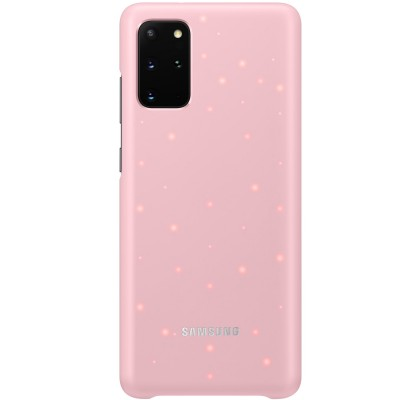 Husa LED Cover pentru Samsung Galaxy S20+, Pink