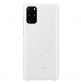Husa LED Cover pentru Samsung Galaxy S20+, White