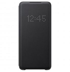 Husa LED View Cover pentru Samsung Galaxy S20+, Black