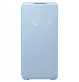 Husa LED View Cover pentru Samsung Galaxy S20+, Blue