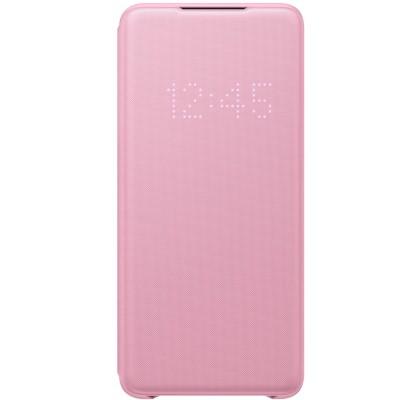 Husa LED View Cover pentru Samsung Galaxy S20+, Pink