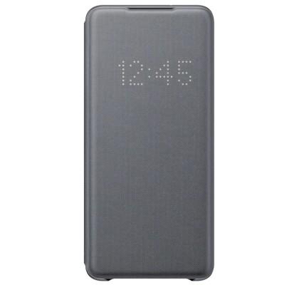 Husa LED View Cover pentru Samsung Galaxy S20+, Gray