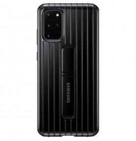 Husa Protective Standing Cover Samsung Galaxy S20+, Black