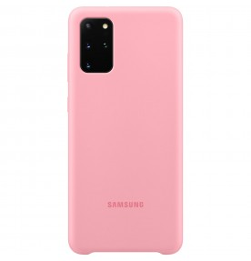 Husa Silicone Cover pentru Samsung Galaxy S20+, Pink