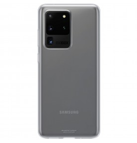 Husa Protective Cover Clear Samsung Galaxy S20 Ultra, Transparent