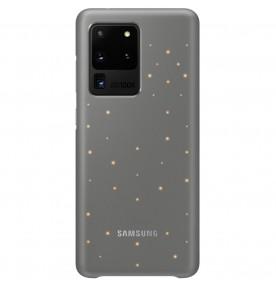 Husa LED Cover pentru Samsung Galaxy S20 Ultra, Grey
