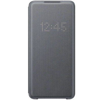 Husa LED View Cover pentru Samsung Galaxy S20 Ultra, Gray