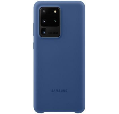 Husa Silicone Cover pentru Samsung Galaxy S20 Ultra, Navy
