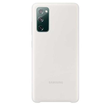 Husa Silicone Cover pentru Samsung Galaxy S20 FE, White