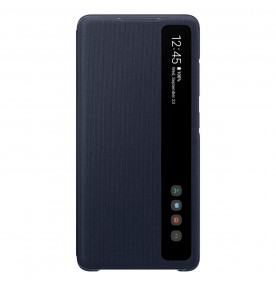 Husa Clear View Cover Samsung Galaxy S20 FE, Navy