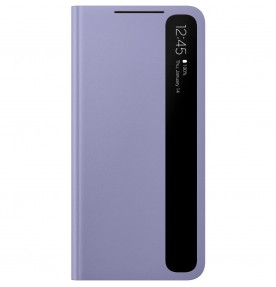 Husa Clear View Cover Samsung Galaxy S21, Violet