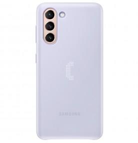 Husa LED Cover pentru Samsung Galaxy S21, Violet