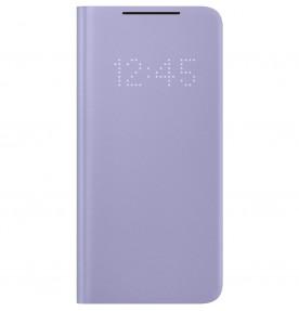 Husa LED View Cover pentru Samsung Galaxy S21, Violet