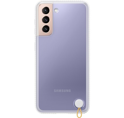 Husa Protective Cover pentru Samsung Galaxy S21, White