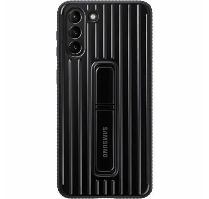 Husa Protective Standing Cover Samsung Galaxy S21+, Black