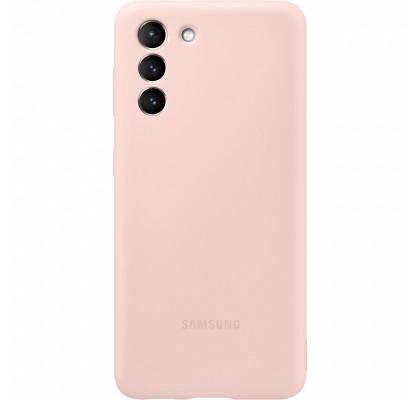 Husa Silicone Cover pentru Samsung Galaxy S21+, Pink