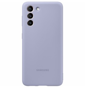 Husa Silicone Cover pentru Samsung Galaxy S21+, Violet