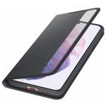 Husa Clear View Cover Samsung Galaxy S21 Plus, Black