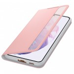 Husa Clear View Cover Samsung Galaxy S21 Plus, Pink