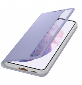 Husa Clear View Cover Samsung Galaxy S21 Plus, Violet