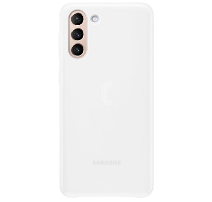 Husa Smart LED Cover pentru Samsung Galaxy S21 Plus, White