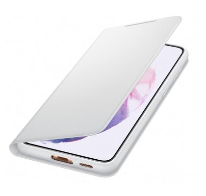 Husa LED View Cover pentru Samsung Galaxy S21 Plus, Light Gray