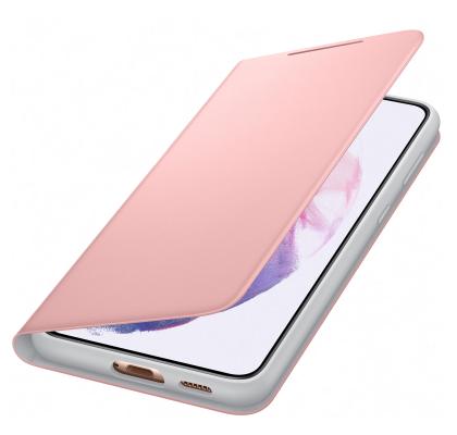 Husa LED View Cover pentru Samsung Galaxy S21 Plus, Pink