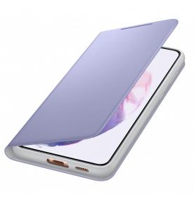 Husa LED View Cover pentru Samsung Galaxy S21 Plus, Violet